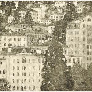 After Gustav Klimt (Austrian, 1862-1918)      Gastein