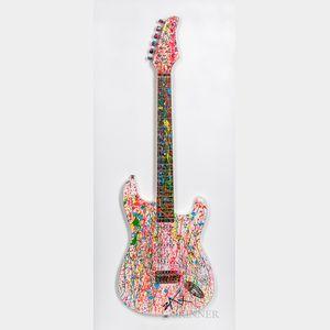 E.M. Zax (American, 20th/21st Century)      Electric Guitar