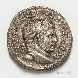 Roman Empire, Antoninus Pius AR Denarius