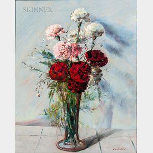 American School, 20th Century      Floral Still Life