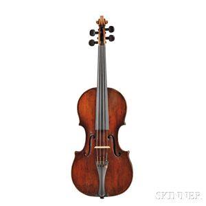 Italian Neapolitan Violin, School of Gagliano