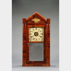 Mahogany Empire Shelf Clock by Seth Thomas