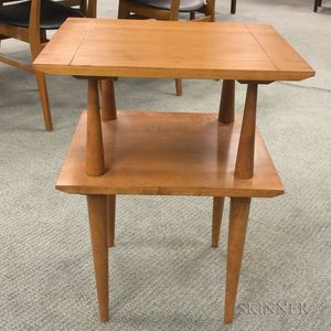 Modern Two-tier Side Table