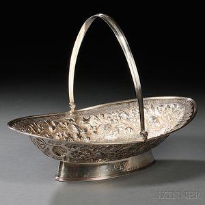 George III Sterling Silver Fruit Basket