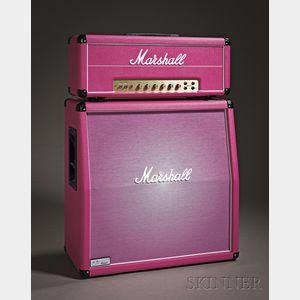 English Amplifier, Marshall Amplification plc, Bletchley, 2010, Pinkburst 1959 Super