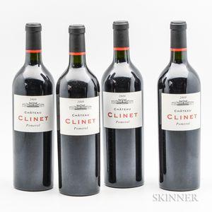 Chateau Clinet 2009, 4 bottles