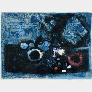 Antoni Clavé (Spanish, 1913-2005)      Untitled.