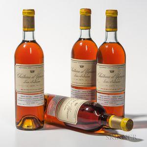 Chateau dYquem 1971, 4 bottles