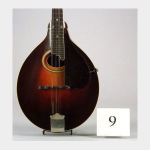 American Mandolin, Gibson Mandolin-Guitar Company, Kalamazoo, 1924, Model A-4