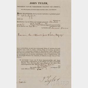 Tyler, John (1790-1862)