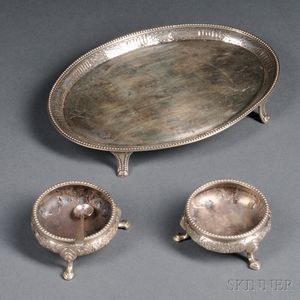 Group of Assorted English Silver Items
