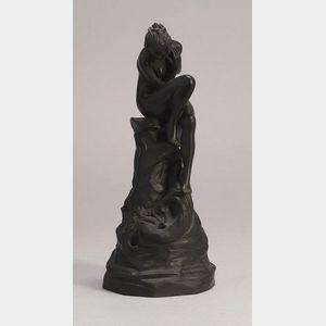 Wedgwood Black Basalt Model of a Female