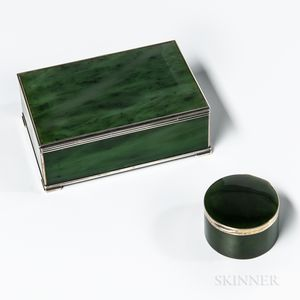 Two Jade Boxes