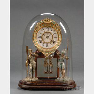 "Ansonia ""Crystal Palace No. 1 Extra"" Mantel Clock"
