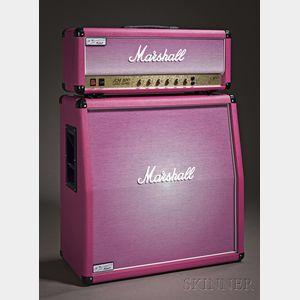 English Amplifier, Marshall Amplification pcl, Bletchley, 2010, Model Pinkburst JCM
