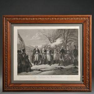 Die Helden Der Revolution Lithograph
