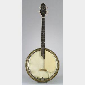 American Tenor Banjo, Gibson Mandolin-Guitar Company, Kalamazoo,   c. 1925, Model TB-4