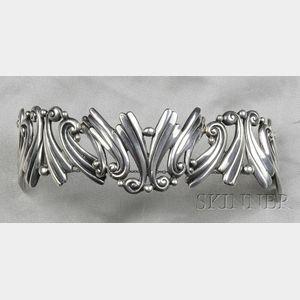 Sterling Silver Bracelet, Margot de Taxco