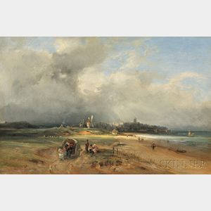 Georges Michel (French, 1763-1843)      Coastal Landscape, Normandy