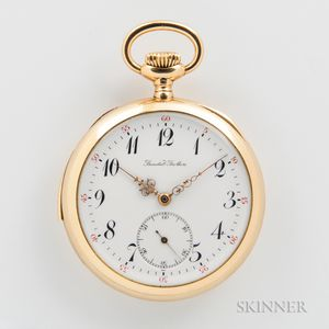 18kt Gold Minute Repeater Open-face Watch