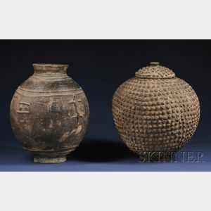 Two Large African Pottery Vessels