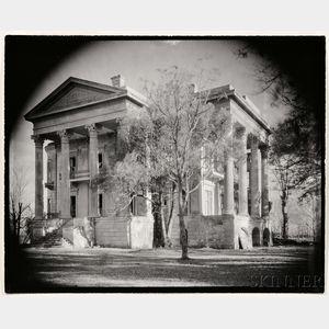 Walker Evans (American, 1903-1975)      Belle Grove Plantation, White Castle, Louisiana