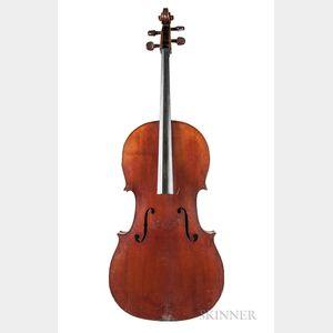 French Violoncello, c. 1880
