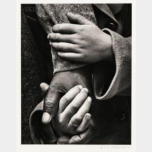 Ruth Bernhard (American, 1905-2006)      Hand in Hand