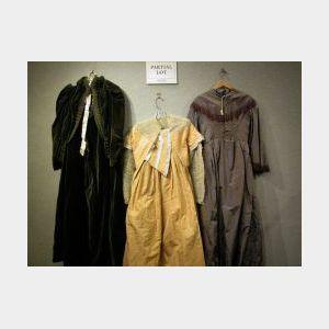 Five Victorian Lady's Dresses