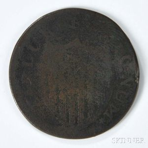 1787 New Jersey Copper, Maris 6-D.