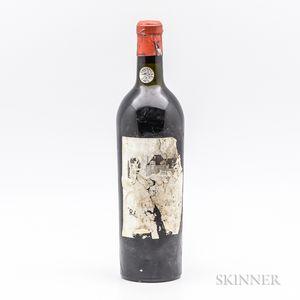 Chateau Rauzan Segla 1929, 1 bottle