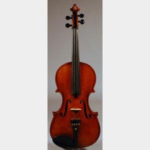 American Violin, Robert Fairlie, Brooklyn, 1888