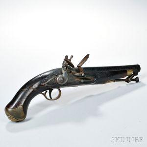 Baker Flintlock Pistol