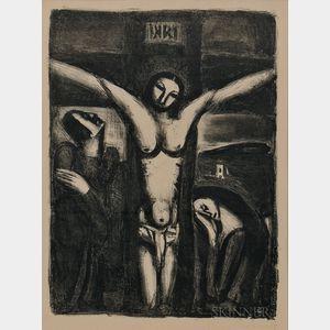 Georges Rouault (French, 1871-1958)      Christ en croix