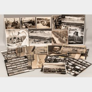Edward Fitzgerald (American, d. 1977) Large Lot of Original Photographs from United Press International, Associated Press, and Boston G