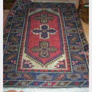 Four Late 20th Century Oriental Rugs