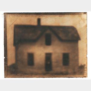 "Jack Spencer (American, b. 1951)      ""An American House,"" Northern Nebraska"