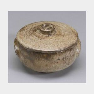 Lucie Rie (1902-1995) Stoneware Covered Bowl