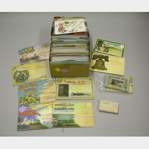 Collection of United States Mid-Atlantic and Southern States Postcards
