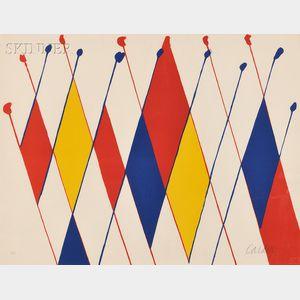 Alexander Calder (American, 1898-1976)      Un drôle de poisson