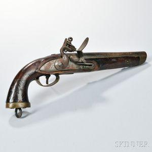 Flintlock Naval Pistol