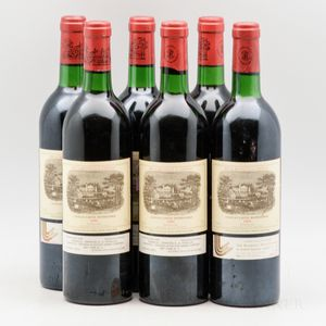 Chateau Lafite Rothschild 1981, 6 bottles
