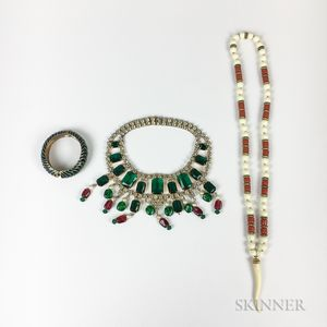 Three Pieces of Kenneth Jay Lane Jewelry