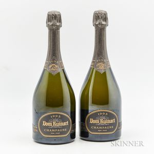 Dom Ruinart Vintage Brut 2003, 2 bottles