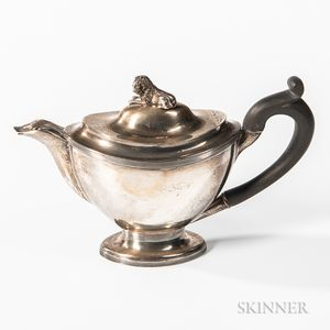 Dutch .934 Silver Teapot