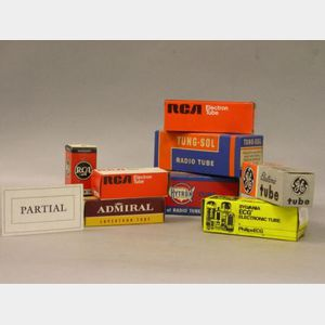 Lot of  Radio Valves and Electronic Tubes