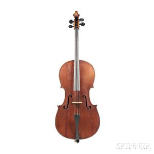 German Violoncello, Jan Basta, Schoenbach, c. 1900
