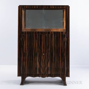 Art Deco Rosewood China Cabinet
