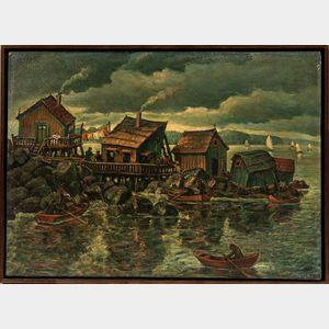 Maurice Kish (American, 1898-1987)      High Tide