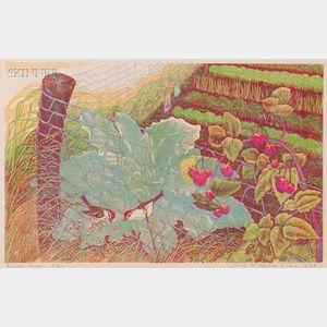 James Dexter Havens (American, 1900-1960)      Lot of Three Prints:  Rabbit Fence